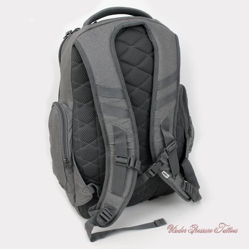 vans skate rucksack backpack transient grau denim skater. Black Bedroom Furniture Sets. Home Design Ideas